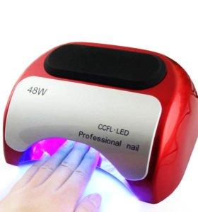 Лампа для сушки лака ccfl + LED 48 ват