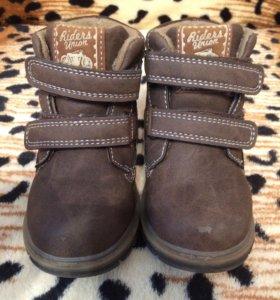 Ботинки для мальчика на весну/осень и зиму