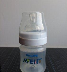 Бутылочка avent для новорождённых (новая)