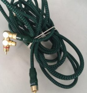Copperhed Aq cable (6.0m) dark greenblack