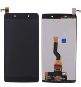 Дисплей Alcatel Idol3 (6039y) с тачскрином, черный