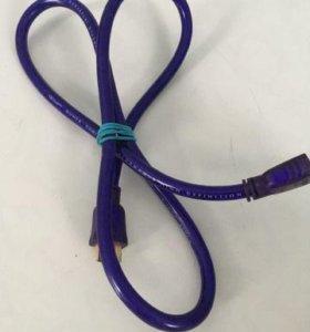 Qed Qunex hdmi-P purple (1.0m) made in UK