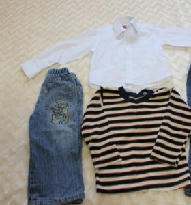 Пакет вещей на возраст 2-3 года