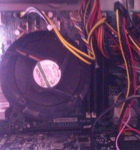 Материнская плата+процессор+оперативная память
