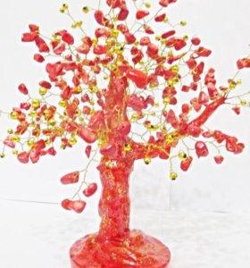 Роскошное Коралловое дерево ваш Оберег и Талисман