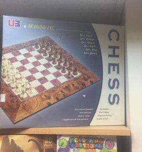 Шахматы подарочные. Магнитные