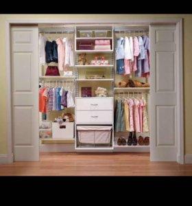 Разбираем гардероб для девочки 1-3 года