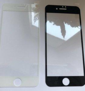 Защитное стекло 3D на iPhone 6 6s 7 8
