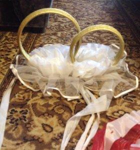 Прокат свадебных украшений