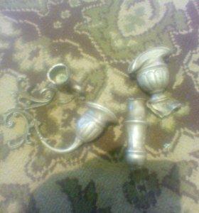 Серебро подсвечник