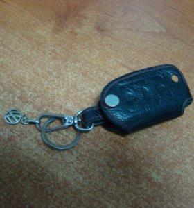 чехол на ключ зажигания фольксваген