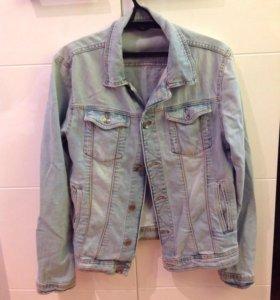 Куртка мужская джинсовая Zara (б/у)