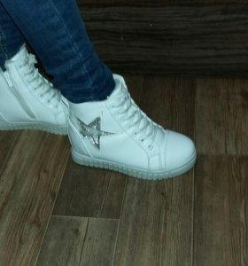 Ботинки зимние(новые)