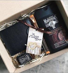 Подарочная коробка для мужчин на 23 февраля