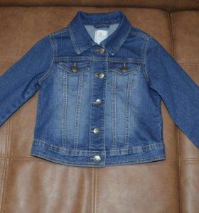 Фирменная джинсовка на рост 128-133 см
