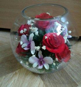 Цветы в вакууме