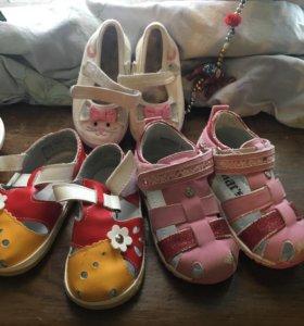 3 пары туфель б/у в хорошем состоянии