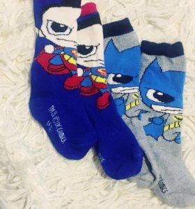 Носки батман супермен