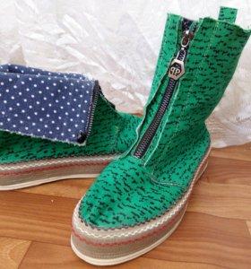 Ботинки, размер 37-38
