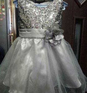 платье для принцессы 2-3 года