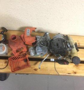 Двигатель и запчасти от Тримера