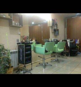 Бизнес парикмахерская действующая