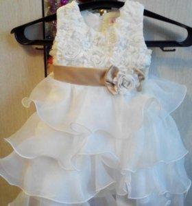 Очень красивое платье на годик!