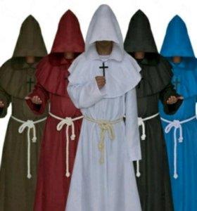 Костюм монаха из средневековья