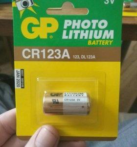 Gp photo lithium cr123a