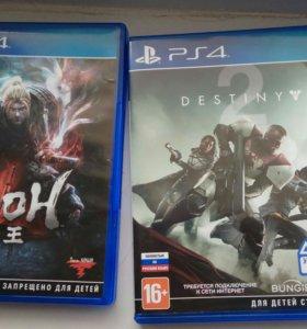 Nioh , Destiny 2