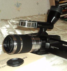 Видеокамера Sony NEX-VG10E,2 объектива в комплекте