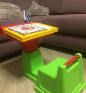 Парта, стол, стул, для занятий
