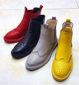 Осенние ботинки челси