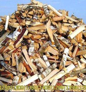 Колотые дрова с доставкой по СпБ и Ленобласти