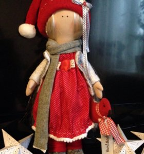 Интерьерная кукла ( ручная работа)