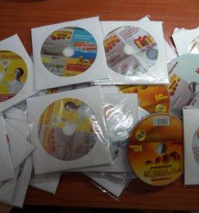 Много ненужных CD дисков
