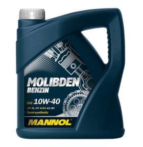 MANNOL Molibden Benzine 10W40 п/с 4л