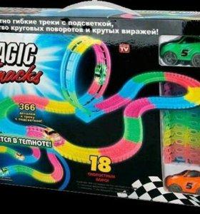 Magic track 366 деталей