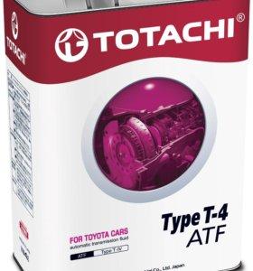 трансмиссионное АКПП TOTACHI ATF TYPE T-IV синт.4л
