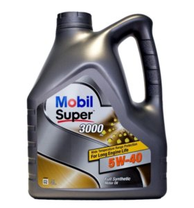 MOBIL SUPER 3000 5W40 синт. 4л