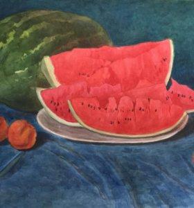 Картина «арбуз»