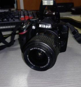 Зерк. фотокамера Nikon D3200 18-55 VR II Black