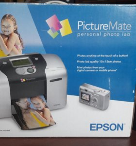 Фотопринтер Epson picturemate