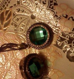 комплект (кольцо, подвеска на цепочке)