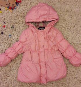 Демисезонная куртка на весну-осень для девочки