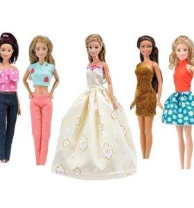 Новый комплект. Одежда для Барби и Обувь