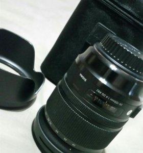 Sigma 24-105 / f4 art for Canon