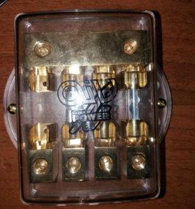 Коробка для предохранителей акустическая 4-х конта