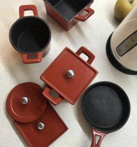 Набор чугунной посуды