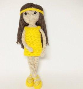 Кукла Прасковья. Ручная работа.